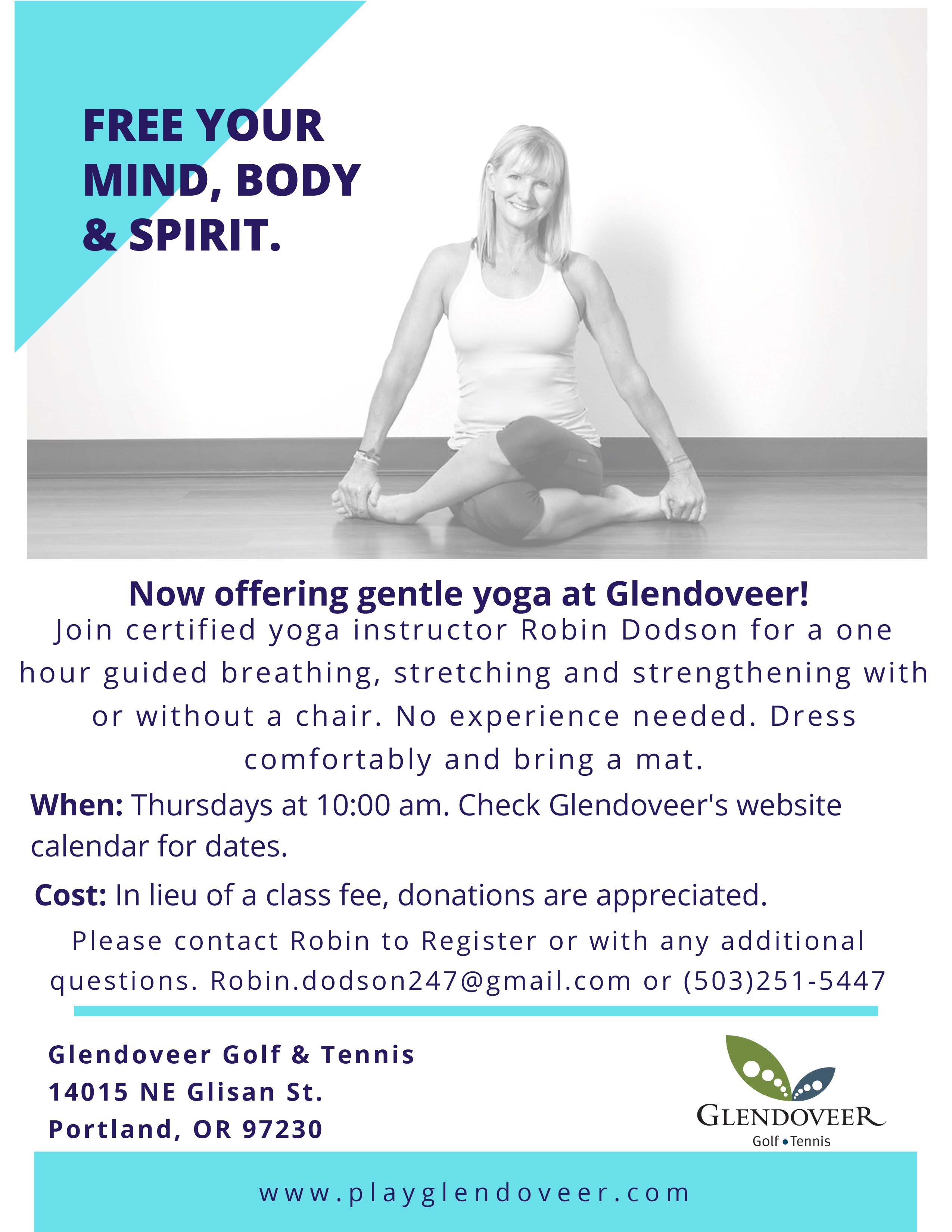 Gentle Yoga at Glendoveer 4